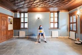 Изглед от изложбения проект на Вълко Чобанов, представен в Данчовата къща, снимка Лина Кривошиева