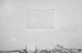 Jovana Popić, Archeology of Knowledge, Blackboard  IV, 2014