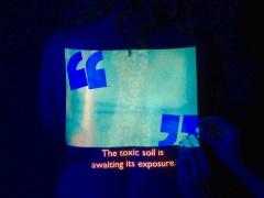 @ Kerstin Schroedinger, Bläue (Blueness), 2017. Video still
