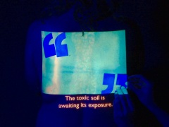 @ Kerstin Schroedinger, Bläue (Blueness), 2017. Video still