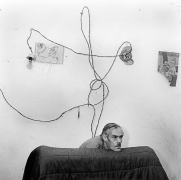 © Roger Ballen, Head Below Wires