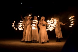 © Мим-формация ЖАР ТЕАТЪР ~ FIRE THEATRE Mime Company